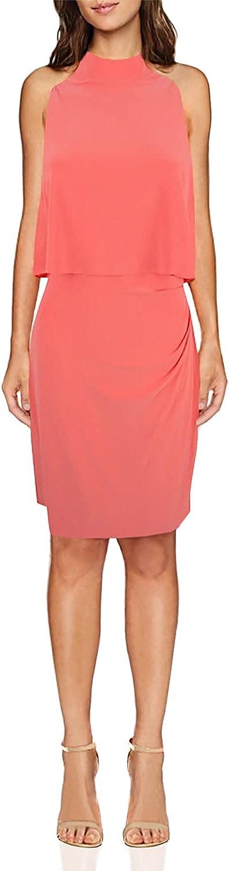 Lauren by Ralph Lauren Women's Layered Jersey Sheath Dress