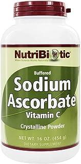 NutriBiotic Buffered Sodium Ascorbate Vitamin C Powder - 16 oz