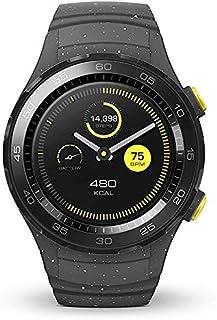 هواوي ساعة ذكية شريط اصطناعي متوافقة مع اندرويد,رمادي - 55021829