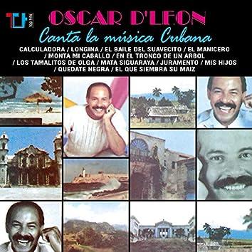 Oscar D'León Canta la Música Cubana