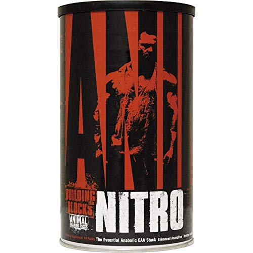Animal Nitro Supplement Essential Anabolic EAA Stack 40 Packs