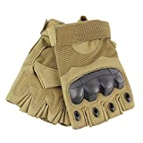 Tactical Gloves Military Rubber Hard Knuckle...