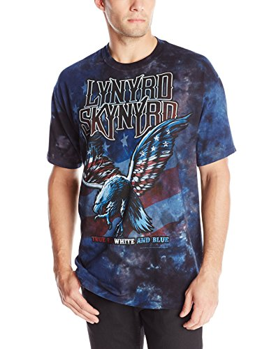 Liquid Blue Herren T-Shirt Lynyrd Skynyrd True Red White and Blue - Mehrfarbig - XX-Large