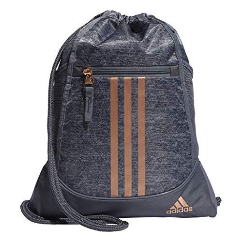 adidas Originals Unisex-Erwachsene Sackpack Alliance II - Rucksackbeutel, Jersey Onix/Rose Gold, OSFA