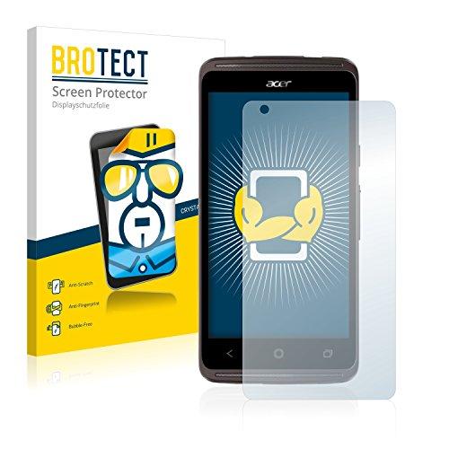 BROTECT Schutzfolie kompatibel mit Acer Liquid Z410 Plus (2 Stück) klare Bildschirmschutz-Folie