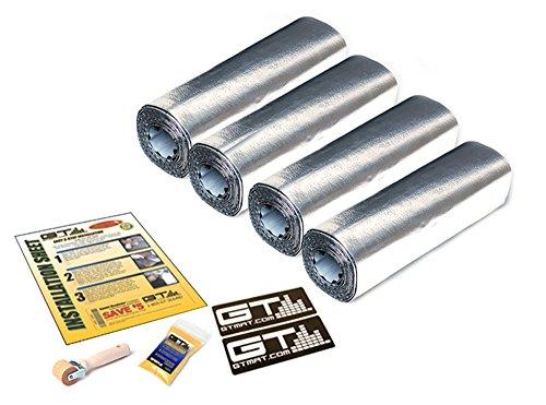 GTMAT Automotive Sound Dampener 80mil Ultra Door Kit - Sound Deadening Installation Kit Includes:...