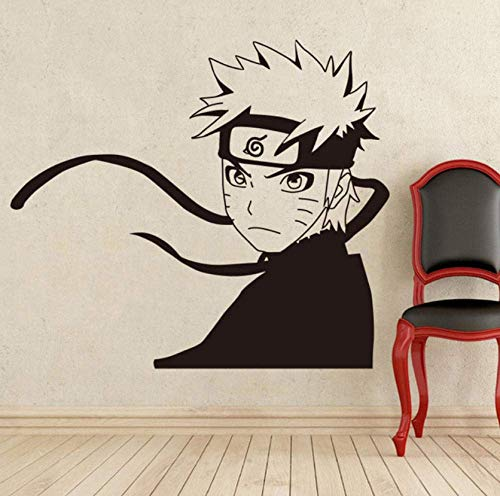 Wandaufkleber Japanische Manga Wandtattoo Vinyl Aufkleber Anime Stil Home Interior Removable Decor Benutzerdefinierte Decals Wandaufkleber 58X65 Cm