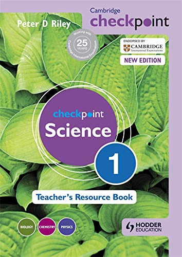 Cambridge Checkpoint Science Teacher's Resource Book 1 (Cambridge Secondary)