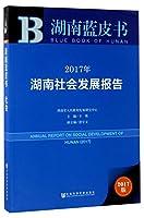 2017年湖南社会发展报告(2017版)/湖南蓝皮书