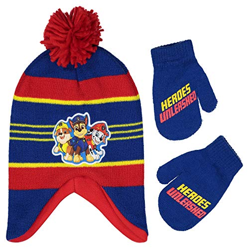 nickelodeon boys winter hat set