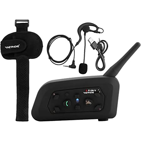 Motorrad Bluetooth Headsets Vnetphone V6c Intercom Elektronik