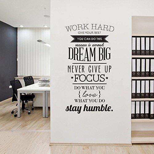Adesivi Murali Citazioni Motivazionali