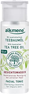 Alkmene Tree Tea Facial Tonic | Safe for Sensitive Skin | Very effective against Acne and Blemished Skin | Improves Comple...