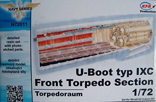 CMK n72011Torpedo Submarino Tipo IX–Modelo Accesorios frente sección F Reglamento , color/modelo...