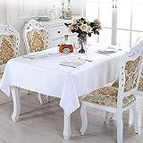Tovaglia rettangolare da 150 x 200 cm, lavabile, in poliestere, ideale per tavoli da buffet, feste, vacanze, cene, matrimoni