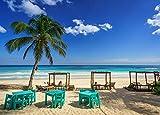 MX-XXUOUO Mexico Coast Sky This Hip Hotel Tulum Quintana Roo, Rompecabezas de Madera de 1000 piezas-29.5'x19.7'