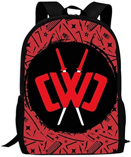 sdfasdfafd Chad Wild Clay Backpack for Women Girls Men Fashion School College Bag Travel Hiking Waterproof Laptop Bag