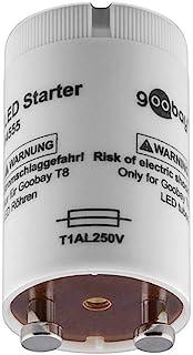 Goobay 54555 LED Starter voor T8/G13 LED buizen met bajonet penafstand 13 mm, 30 W, grijs