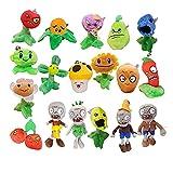 Plantas contra Zombies Plants vs.Zombies Pillow Plush Toy Doll 3 Genuine Children's Pea Shooter Sunflower Complete Set 2