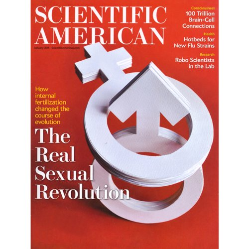 Scientific American, January 2011 audiobook cover art