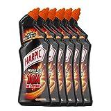 Harpic Gel Power Plus Nettoyant Surpuissant 750 ml - Lot de 6