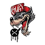 Raptor Hunting Solutions Calcomanía de Vinilo Lobo X Pegatina para Coches y Motocicletas...