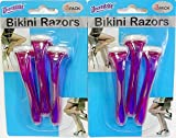 2 Packs of Bikini Razors Total 6 Pieces Ideal For a Brazillian Shave
