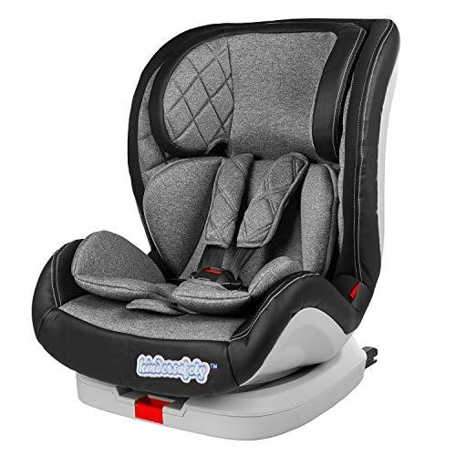 Autokindersitz ISOFIX Kindersitz Kindersafety KP0106 9 bis 36 kg gruppe 1 2 3 mitwachsender Baby- und Kinderautositz NEU verstellbare Kopfstütze und Rückenlehne