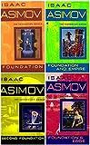 The Foundation Novels 4-Book Set: Foundation/Foundation and Empire/Second Foundation/Foundation's Edge