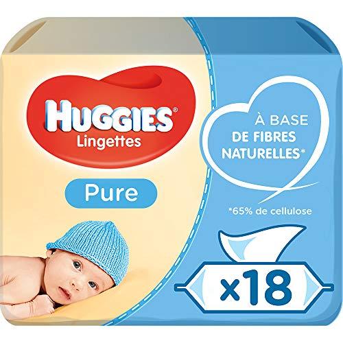 Huggies Pure Toallitas para Bebé - 18...