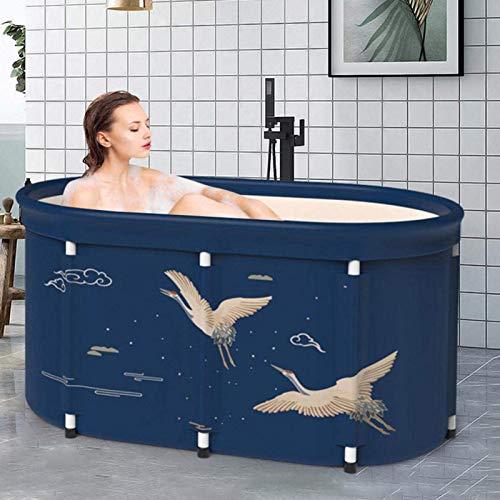 Tragbare Faltbare Badewanne Für Erwachsene,Warmwasserbad Und Eisbad-PVC, Peach Skin Composite
