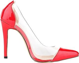 Amazon.it: decolletè rosse 35: Scarpe e borse