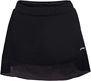 LI-NING at Dry Women's Badminton Skirt Shorts Regular Fit Lining Comfort Breathable Lining Tennis Sports Skirts ASKN018