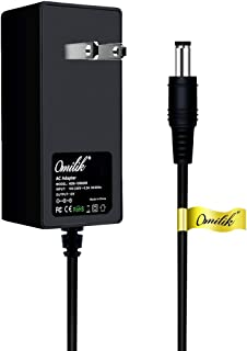 Omilik 12V AC Adapter Battery Charger for Best Choice Products Wrangler SUV Kid Trax Dynacraft Electric Ride-Ons Mercedes-Benz Kids 12 Volt Electric Wheels RC Car Ride On with Round Plug Tip (Not 6V)