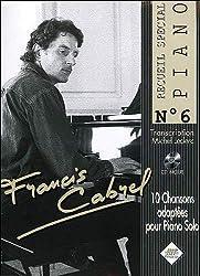 Francis Cabrel Piano N.6+CD