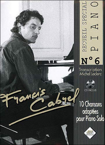 Francis Cabrel Piano N.6+CD