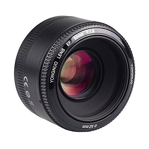 lente de 50mm canon fabricante YONGNUO