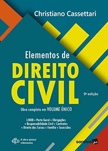 Elementos de Direito Civil - 9ª Edição 2021