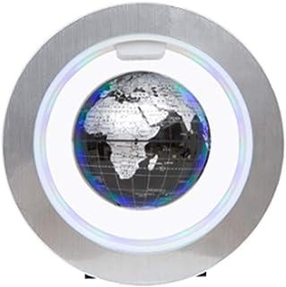 Glober för skrivbordsdekoration Flytande klot med LED-lampor Magnetisk tation Flytande klot Världskarta Perfekt för skrivb...