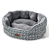 Bedsure 25 Inches Pet Bed for Small/Medium Dogs or Large Cats - Reversible Cushion for Joint-Relief and Sleep