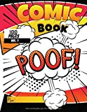 Comic Book: Libro para crear tus propios cómics o mangas, pon tu imaginación y creatividad al 100%-regalo perfecto para grandes y pequeños