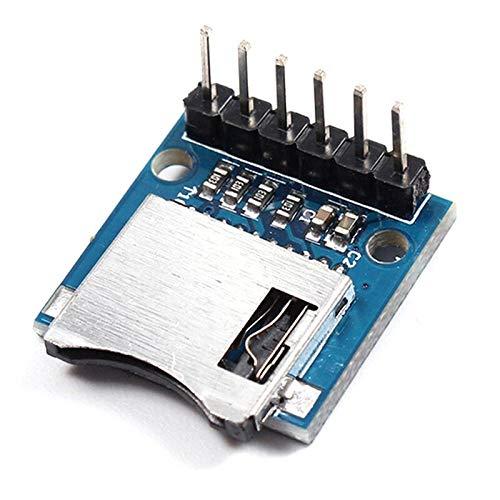 Mini módulo de Tarjeta SD, Tarjeta de Almacenamiento Micro SD para Arduino AVR Arm módulo de Memoria