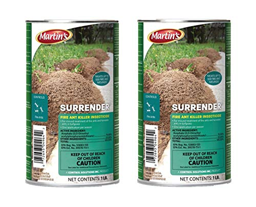 Control Solutions Martin's Surrender Fire Ant Killer, 1 lb, Pack of 2