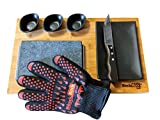 Black Rock Grill Steak Stones Cooking Gift Set