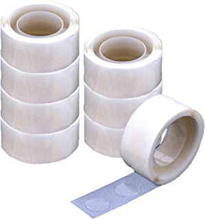 Balloon Glue 800 PCS Booger Glue Double Sided Dots of Glue Craft Adhesive Point Tape Non-liquid Glue (800 PCS)