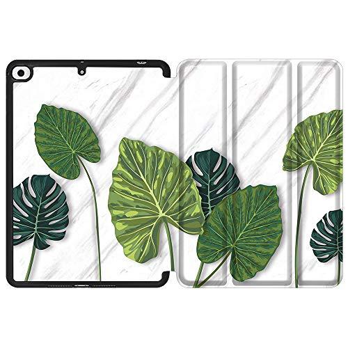 SDH Funda para iPad Mini 7.9 de 5ª generación 2019,funda protectora de TPU suave para la parte trasera de reposo/despertar automático para iPad Mini 5 2019/iPad Mini 4 4th 2015, Beautiful Leaves 3