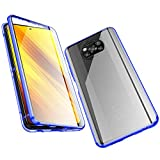 Jonwelsy Case for Xiaomi Poco X3 NFC, Magnetic Adsorption