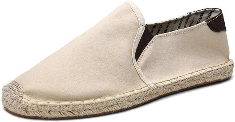 BeautyOriginal Women's Linen Lazy Plain Couple shoes