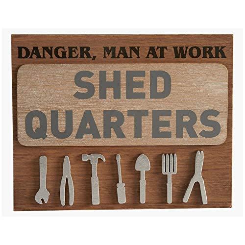 Transomnia Shed Quarters Sign