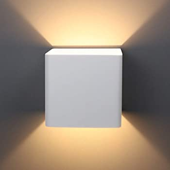 Ralbay Modern Led Wall Sconce Lighting Fixtures Aluminum 6w Warm White 3000k Up And Down Indoor Lighting For Living Room Bedroom Hallway Not Dimmable Amazon Com